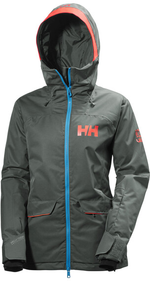 Helly Hansen W's Powderqueen Jacket Rock
